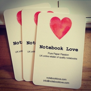 Notebook Love Cards
